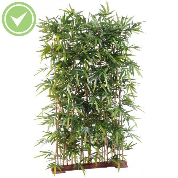 Haie de bambou artificiel pour exterieur maison et fleurs for Bambou synthetique exterieur