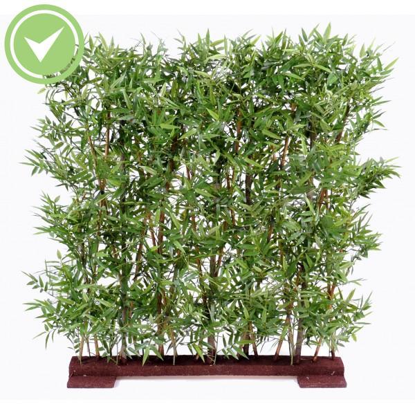 Haie de bambou artificiel pour exterieur maison et fleurs - Haie bambou artificiel exterieur ...