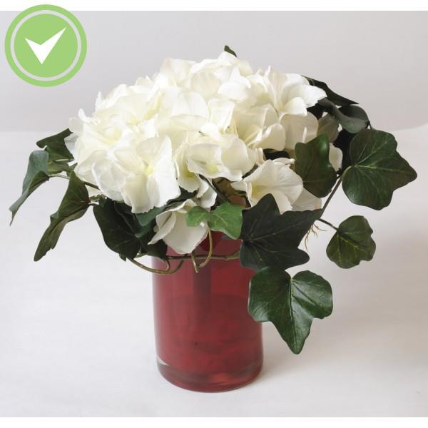 bouquet hortensia bouquet artificiel maison et fleurs. Black Bedroom Furniture Sets. Home Design Ideas
