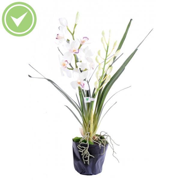 Cymbidium plante 80 cm v g tal artificiel maison et fleurs for Plante vegetal