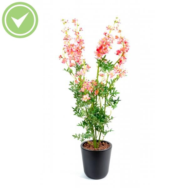 Delphinium mini piquet plante artificielle fleurie for Mini plante artificielle