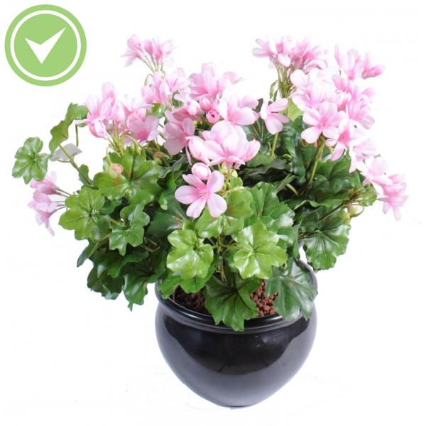Geranium lierre artificiel maison et fleurs for Geranium artificiel jardiniere