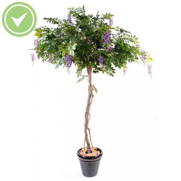 Cafeier fleurs arbre artificiel fleur maison et fleurs - Tronc d arbre artificiel ...