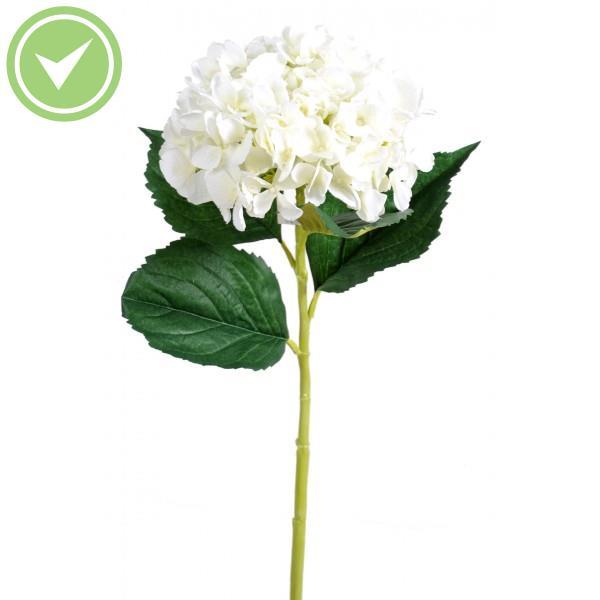 Hortensia Tete Fleur Artificielle En Tige Maison Et Fleurs