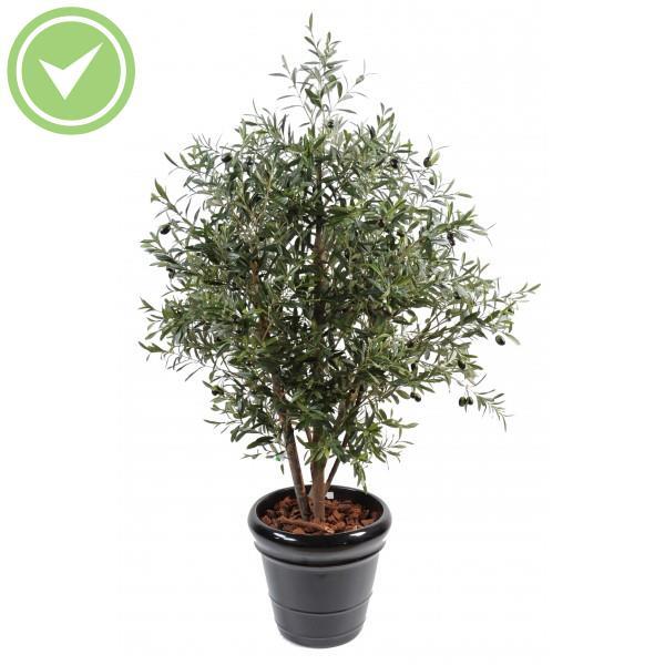 Olivier new root plante artificielle m diterran enne for Faux olivier arbre