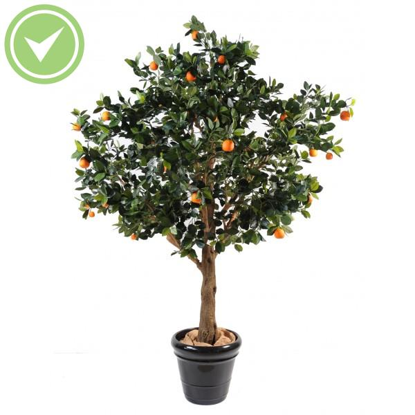 oranger arbre plante artificielle m diterran enne maison et fleurs. Black Bedroom Furniture Sets. Home Design Ideas