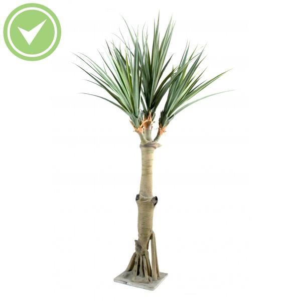 Pandanus 4 tetes palmier artificiel maison et fleurs for Arbre palmier artificiel